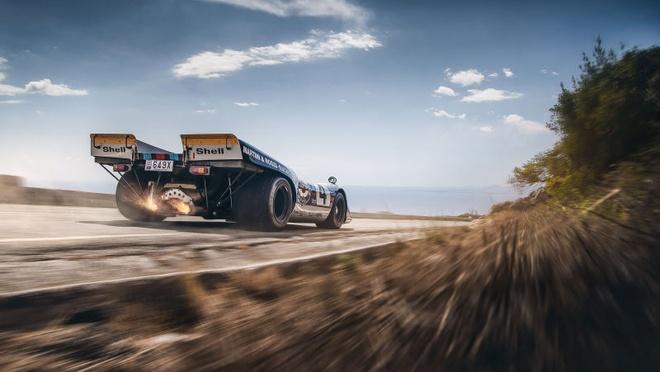 'Do' Porsche 917 hop phap de chay tren pho hinh anh 7