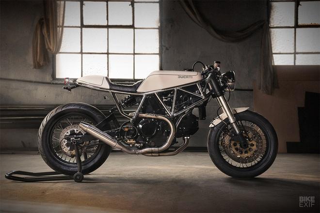 Ducati 900 SS do phong cach ngua hoang hinh anh