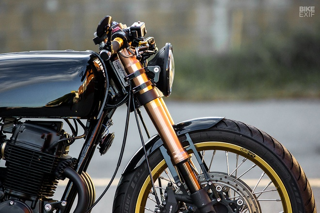 Honda CB750 phong cach cafe racer tu xu so chuot tui hinh anh 5