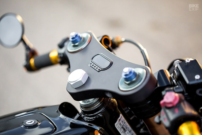Honda CB750 phong cach cafe racer tu xu so chuot tui hinh anh 7
