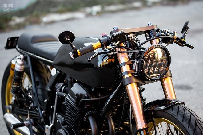 Honda CB750 phong cach cafe racer tu xu so chuot tui hinh anh 8