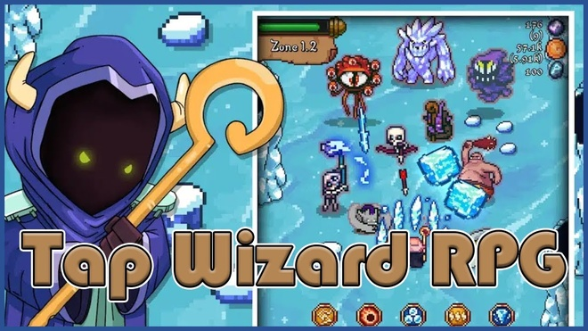 Game Tap Wizard RPG: Arcane Quest tren iOS va Android hinh anh