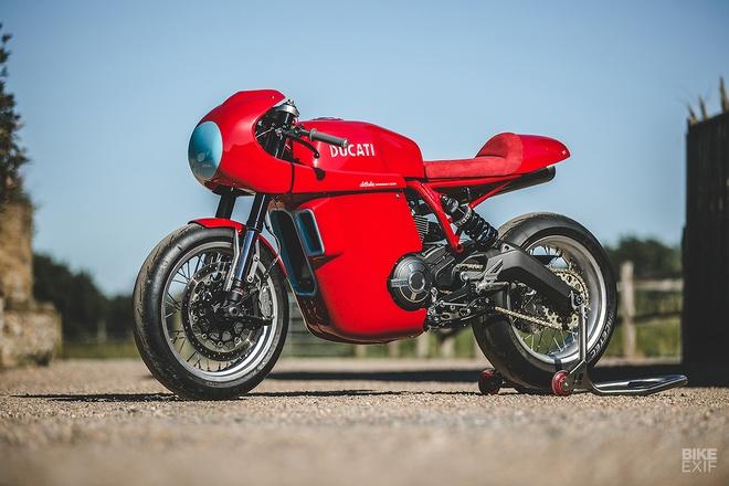 Ducati Scrambler do phong cach xe dua hinh anh