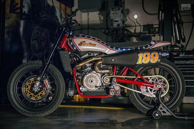 Moto bieu dien Indian FTR750 anh 2