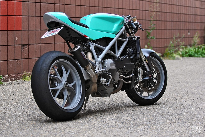 Ducati 848 cafe fighter do mau sac la mat hinh anh 9