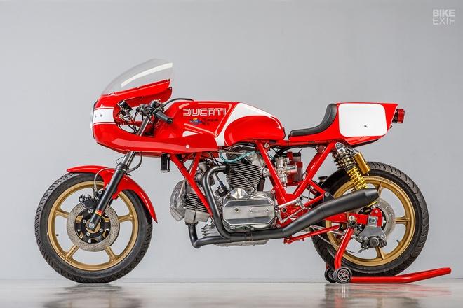 Mau do Ducati 900 SS danh rieng cho giai dua Isle of Man hinh anh 1