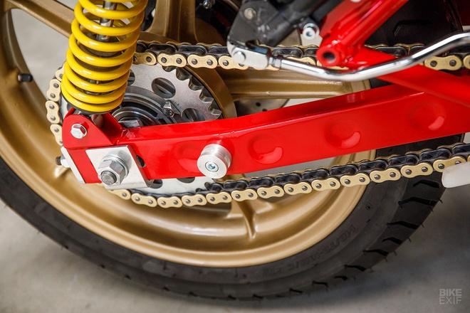 Mau do Ducati 900 SS danh rieng cho giai dua Isle of Man hinh anh 3