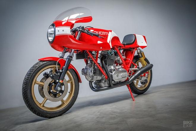 Mau do Ducati 900 SS danh rieng cho giai dua Isle of Man hinh anh 8