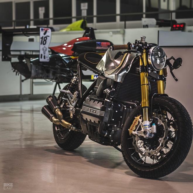 Xe do BMW K100 Cafe racer anh 10