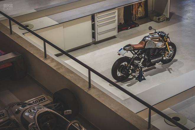 Xe do BMW K100 Cafe racer anh 11