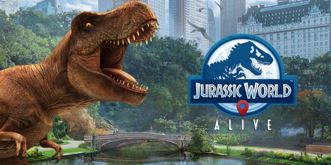 Jurassic World Alive - Game AR song cung khung long hinh anh