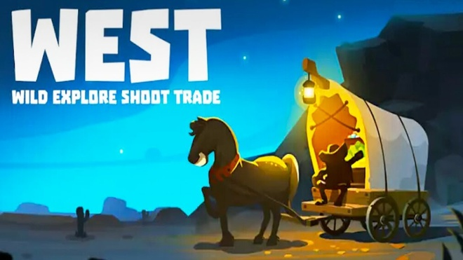 Wild West: Explore Shoot Trade thuoc the loai game phieu luu mao hiem hinh anh
