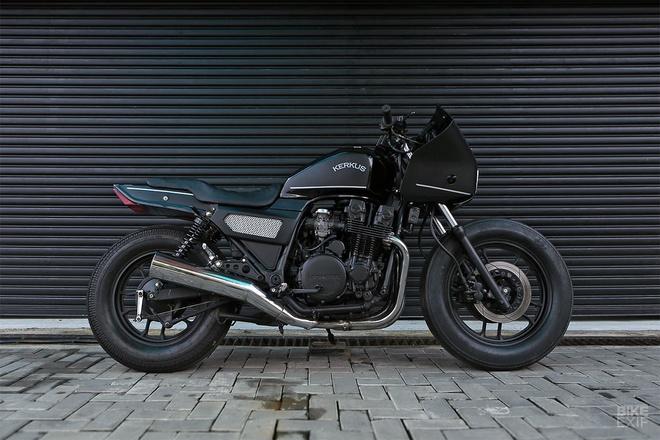 Moto canh sat Honda CBX750 tai xuat voi phong cach ham ho hinh anh 2