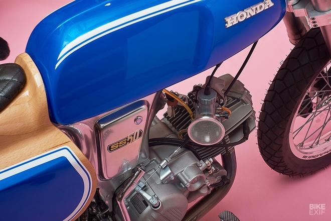Chi tiet ngua hoang ti hon Honda SS50 tu nuoc Phap hinh anh 4