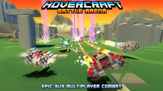 Hovercraft: Battle Arena co do hoa la mat hinh anh