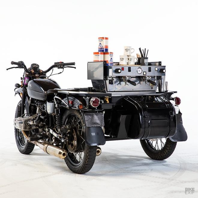 Moto Ural do phong cach xe ban ca phe di dong hinh anh 2