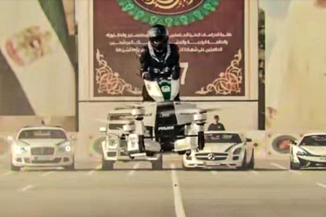 Canh sat Dubai tap su dung xe bay de bat toi pham hinh anh 3