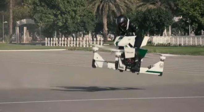 Canh sat Dubai tap su dung xe bay de bat toi pham hinh anh 7