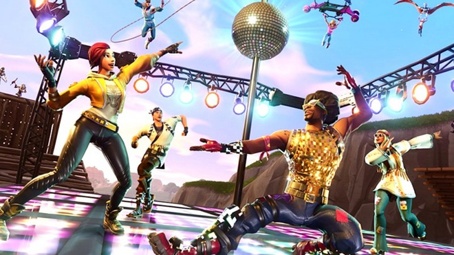 Những điệu nhảy trong Fortnite đòi hỏi người chơi phải bỏ ra một khoản tiền để sở hữu. Ảnh: Kotaku.