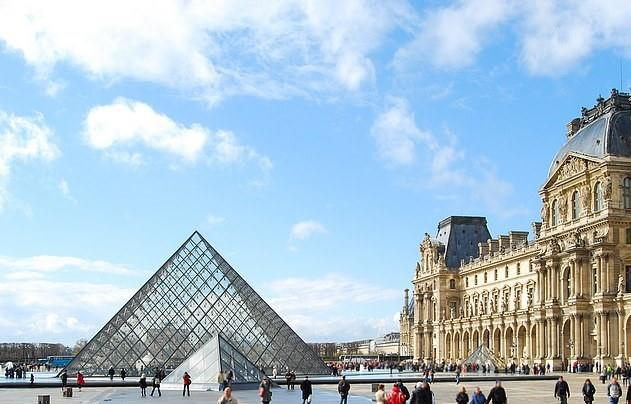 Bao tang Louvre dong cua vi qua dong du khach xem tranh Mona Lisa hinh anh 2
