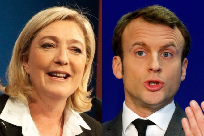 Macron va Le Pen vao vong 2 bau cu tong thong Phap hinh anh 1