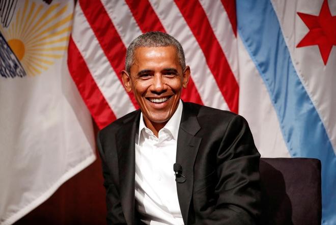 Ong Obama duoc tra gan nua trieu USD de dien thuyet o pho Wall hinh anh