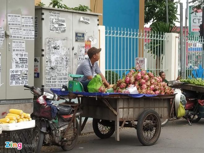 Thanh long Binh Thuan do ve Sai Gon gia 15.000 dong 2 kg hinh anh 2