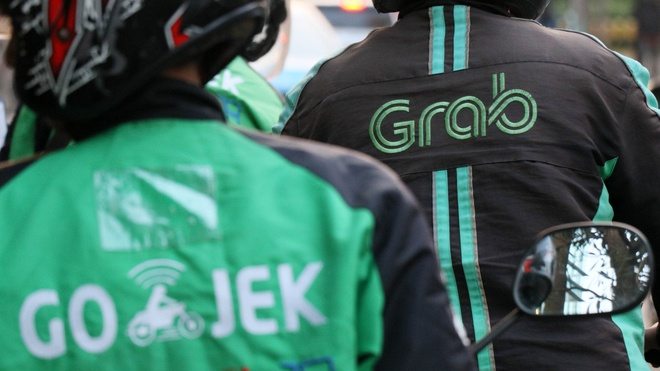 Grab duoc SoftBank rot them 1,5 ty USD, quyet thang Go-Jek o Indonesia hinh anh 1