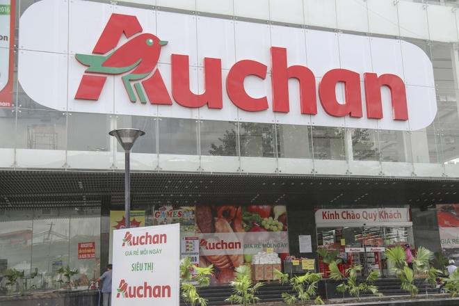 Chuoi sieu thi Auchan ban minh, rut lui khoi Viet Nam hinh anh 1
