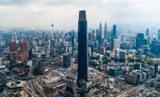 Vuot Landmark 81, thap 492 m o Malaysia la toa nha cao nhat DNA hinh anh 1
