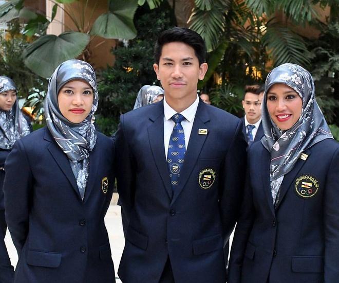 Doi tu cua Cong chua Brunei thi dau o SEA Games hinh anh 1