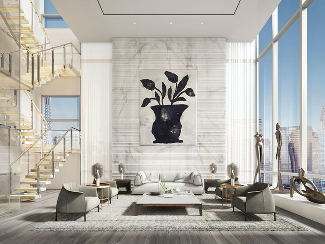 Can penthouse 98 trieu USD dat nhat New York hinh anh 4
