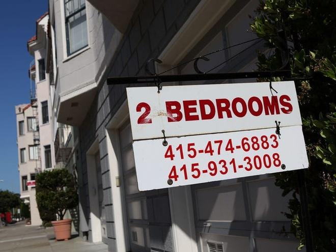Giá tiền thuê nhà vô cùng đắt đỏ vốn đã là thương hiệu của San Francisco khiến nhiều người vỡ mộng. Đa số các cư dân ở đây dành phần lớn tiền lương của mình để trả phí thuê nhà. Ảnh: Getty.