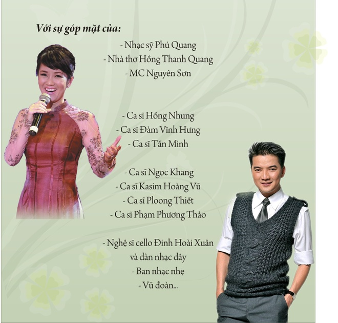 Hong Nhung, Dam Vinh Hung hat vi nguoi ngheo hinh anh