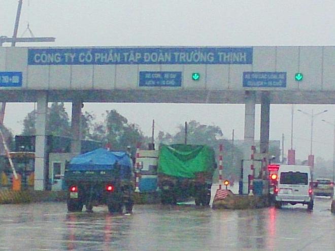 Quang Tri de xuat giam phi cho xe qua tram BOT hinh anh