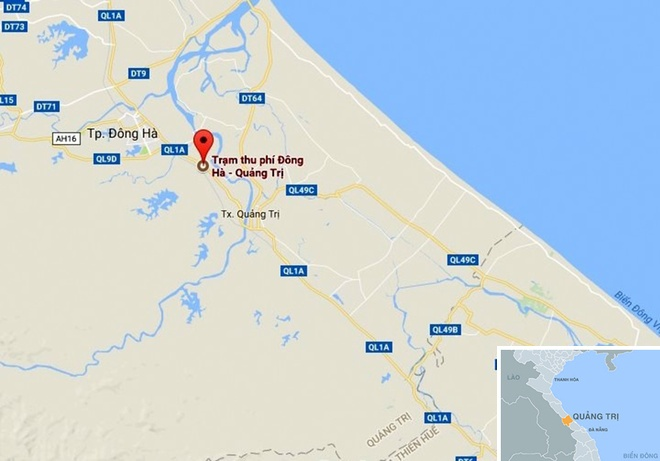 Quang Tri de xuat giam phi cho xe qua tram BOT hinh anh 3