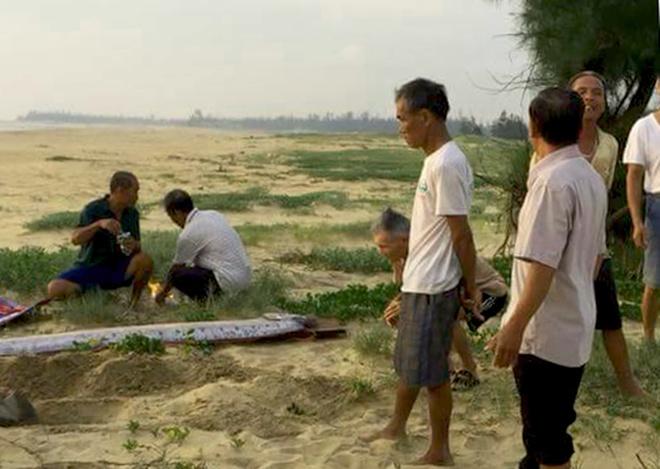 Ca mai cheo lien tuc dat vao bo bien Quang Binh hinh anh 1