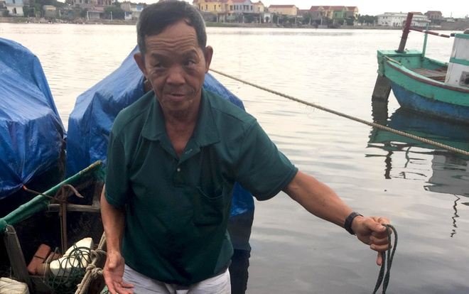 Ngu dan Quang Binh cau duoc ca nghi la su vang nang gan 3 kg hinh anh 2