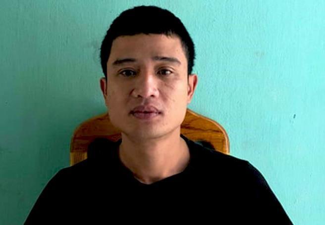 Trần Hoàng Chung bị tạm giam vì hành vi Chống người thi hành công vụ. Ảnh: T.P.