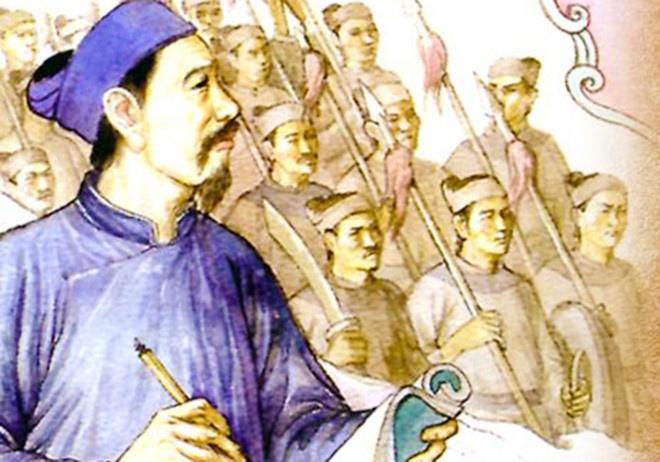 Nguyen Trai va nghe thuat 'tay khong bat giac' doc dao trong su Viet hinh anh