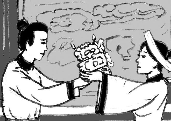 Chieu nhuong ngoi cua Ly Chieu Hoang hinh anh