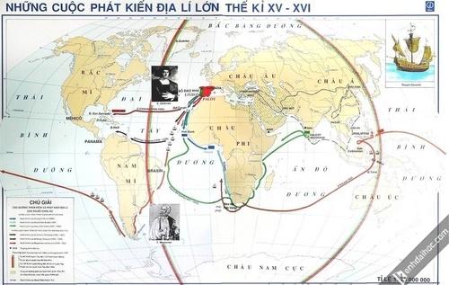Bo Dao Nha,  Lisbon,  Magellan,  Phat kien dia ly anh 5