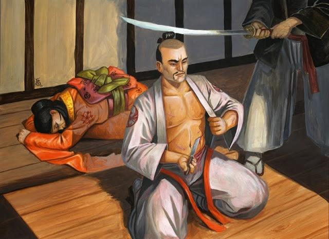 Vi sao vo si Samurai phai mo bung tu sat? hinh anh