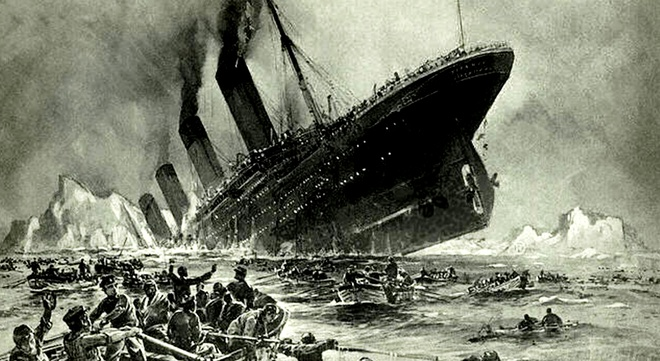 Vi sao Titanic 'khong the dam' lai chim tren dai duong? hinh anh
