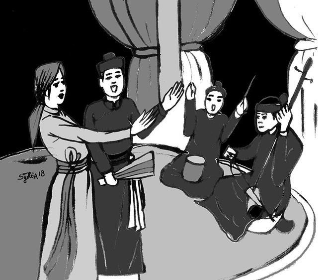 20/10 ke chuyen ba to hat cheo va bai trong tran luu truyen su sach hinh anh