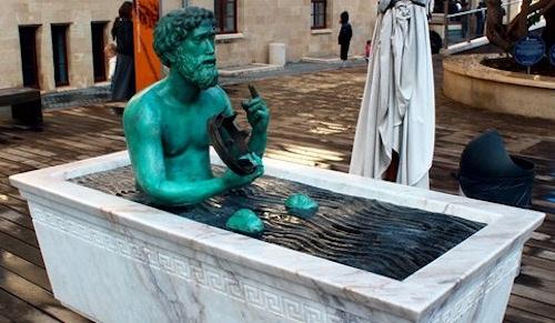 Vi sao Archimedes tran truong chay giua pho va het nhu dien? hinh anh