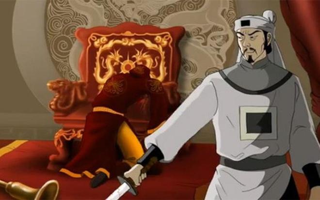 Vua Tran Du Tong cung quan than an choi huong lac hinh anh