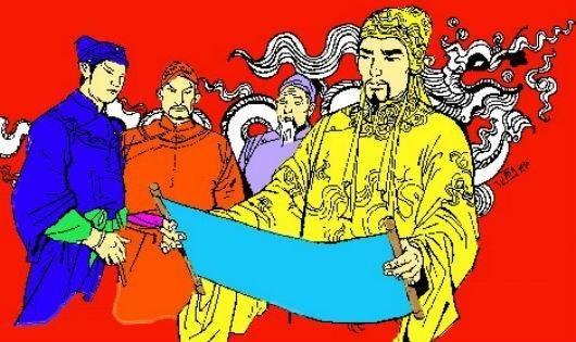 Chua Chom duoc ai dua len lam vua? hinh anh 5