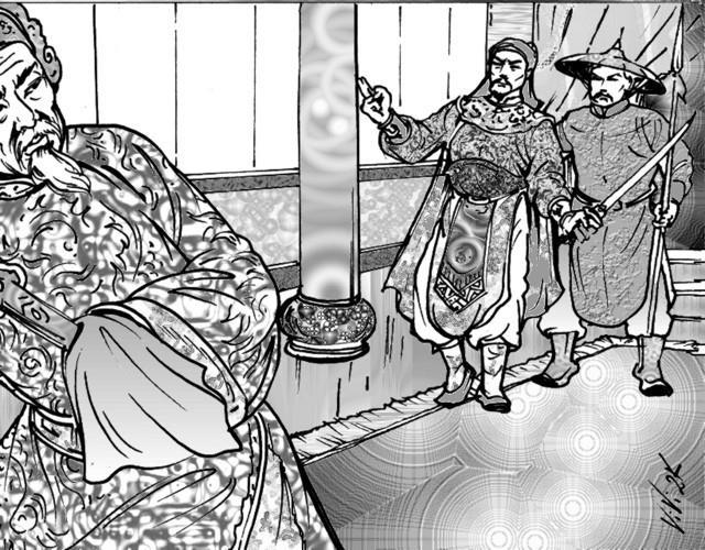 Ong to cua 2 dong chua Trinh va Nguyen chet tham boi mieng dua hau hinh anh 2