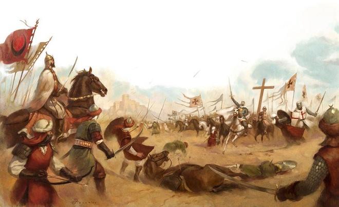 600 quan cam tu cua vua hui danh bai 26.000 quan cua Saladin the nao? hinh anh 3